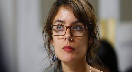Camila Vallejo al gobierno por proyecto de 40 horas: Mienten descaradamente