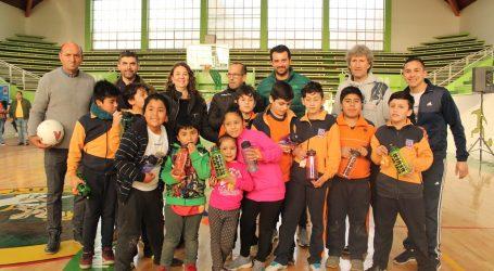 Copa Libertadores llegó a Lautaro para celebrar a los más pequeños