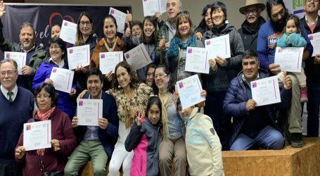 INDAP invirtió más de 60 millones de pesos para potenciar desarrollo del Turismo Rural en La Araucanía