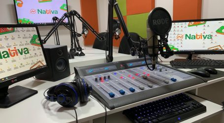 Radio Nativa celebra sus 20 años con moderno estudio