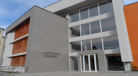 MOP y Gobierno Regional entrega obras de nuevo edificio consistorial de Perquenco
