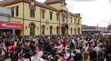 Con masiva Cuecada escolar Lautaro da inicio a las actividades de Fiestas Patrias
