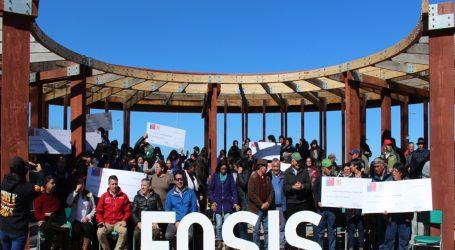 FOSIS entregó más de mil millones de pesos para las agrupaciones productivas de La Araucanía
