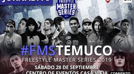 Freestyle Master series llega a Temuco