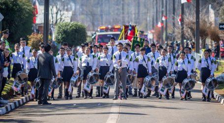 Victoria: Desfiles Patrióticos de las diferentes localidades de la Comuna