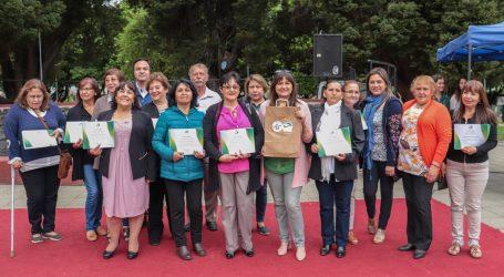 """Organizaciones de Vilcún participaron en proyecto de """"Huertos Comunitarios"""""""