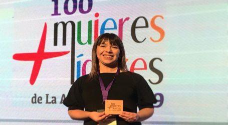 Directora de Indap es reconocida como una de las 100 mujeres líderes de La Araucanía