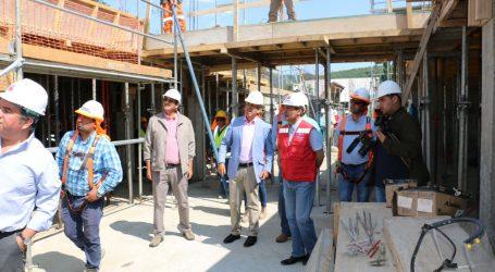 MOP construye moderno edificio que albergará las dependencias de nueva municipalidad de Lonquimay