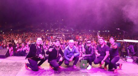 Lonquimay celebra con más de 6 mil personas show en sus 123 años
