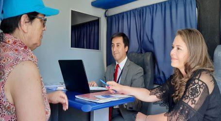 Oficina Móvil de Bienes Nacionales comenzó a recorrer La Araucanía