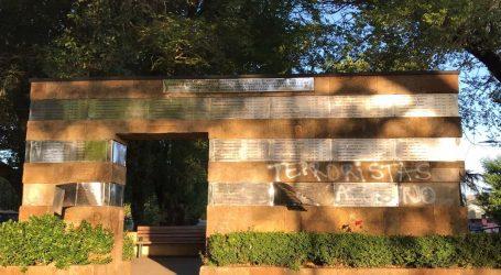 INDH repudia daños realizados a Memorial de Detenidos Desaparecidos en Temuco
