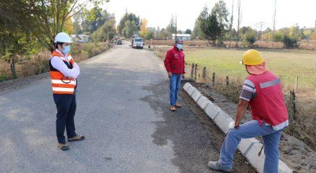 MOP: Avanza pavimentación del camino Los Galpones – Quinque – Comuy