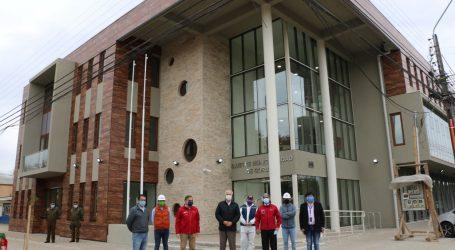 MOP finaliza obras de nuevo edificio consistorial de Gorbea