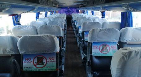 Nar Bus implementa inédita medida para resguardar la salud de sus pasajeros