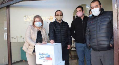 Diputada Parra gestiona cajas de alimentos a través de la embajada de Israel