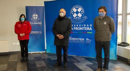 UFRO y SEREMI de Salud Araucanía firman convenio para testeo, trazabilidad y aislamiento de casos COVID-19
