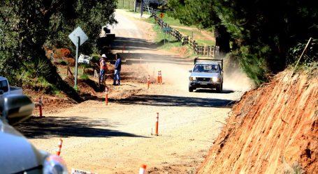 MOP reinicia los trabajos de pavimentación del camino de acceso al Parque Nacional Nahuelbuta
