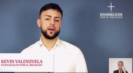 """""""Yo estoy del lado de Dios"""": Campaña de Evangélicos por el Rechazo generó controversia en las redes sociales"""