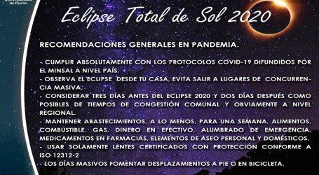 Municipio de Pucón ratifica que preparativos del eclipse de sol se harán como si fuera un año normal