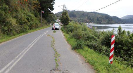 MOP comienza obras de mejoramiento de ruta de acceso a Caleta de Queule