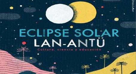 """Lanzan Guía bilingüe """"Eclipse Solar/Lan Antü Araucanía 2020"""" dirigida a niñas, niños y jóvenes de la región"""
