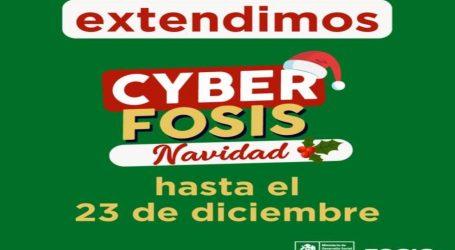Por éxito de ventas se extiende CyberFOSIS Navidad