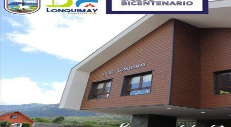 """Lonquimay suma logros: Lico Polivalente es nominado """"Bicentenario y de Excelencia"""""""