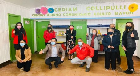 Collipulli inauguró centro diurno para personas mayores en La Araucanía