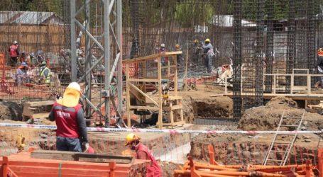 Avanzan obras de construcción del nuevo edificio del Liceo Jorge Teillier de Lautaro