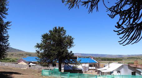 Avanza construcción de posta de salud rural de Huallen Mapu en Lonquimay