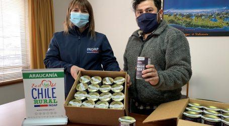 Emprendedores de La Araucanía, apoyados por INDAP, venden a través de Amazon.com