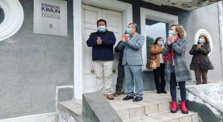 Con colocación de placa dan el vamos a la puesta en marcha del Nuevo Espacio Kimün en Temuco