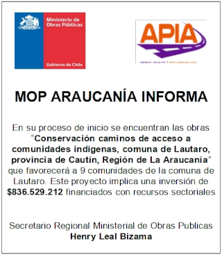 MOP Araucanía