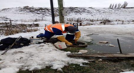 Aguas Araucanía reportó congelamiento de medidores y arranques por bajas temperaturas