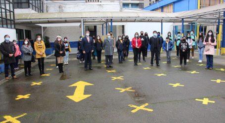 Autoridades de gobierno informaron actualización del Plan Paso a Paso en relación a establecimientos educacionales