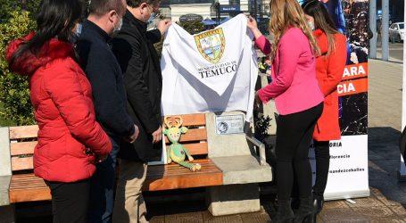 Municipio inaugura placa conmemorativa en honor a todas las víctimas temuquenses de accidentes viales