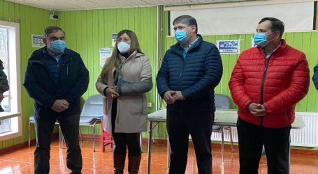 Autoridades se comprometieron a restaurar el sector afectado por el incendio en el hospital de Vilcún en un plazo máximo de dos semanas