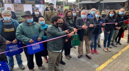 """Inauguran """"Mercado Campesino Agroecológico» de la comuna de Pucón"""